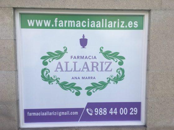 escaparate-farmacia-allariz-farmaflow