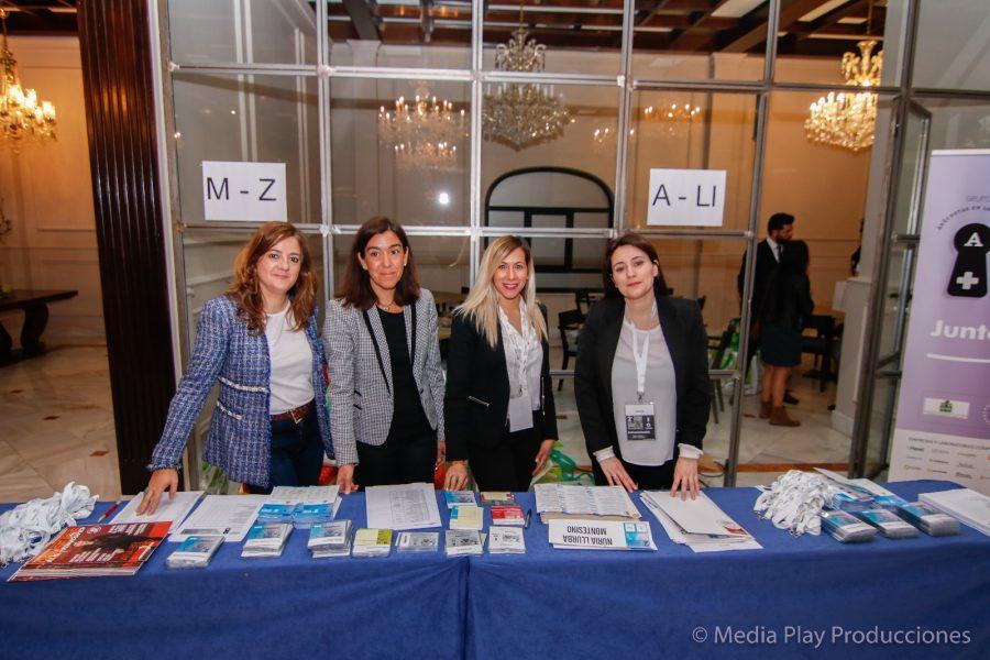 Mesa Acreditaciones del Congreso de Salamanca