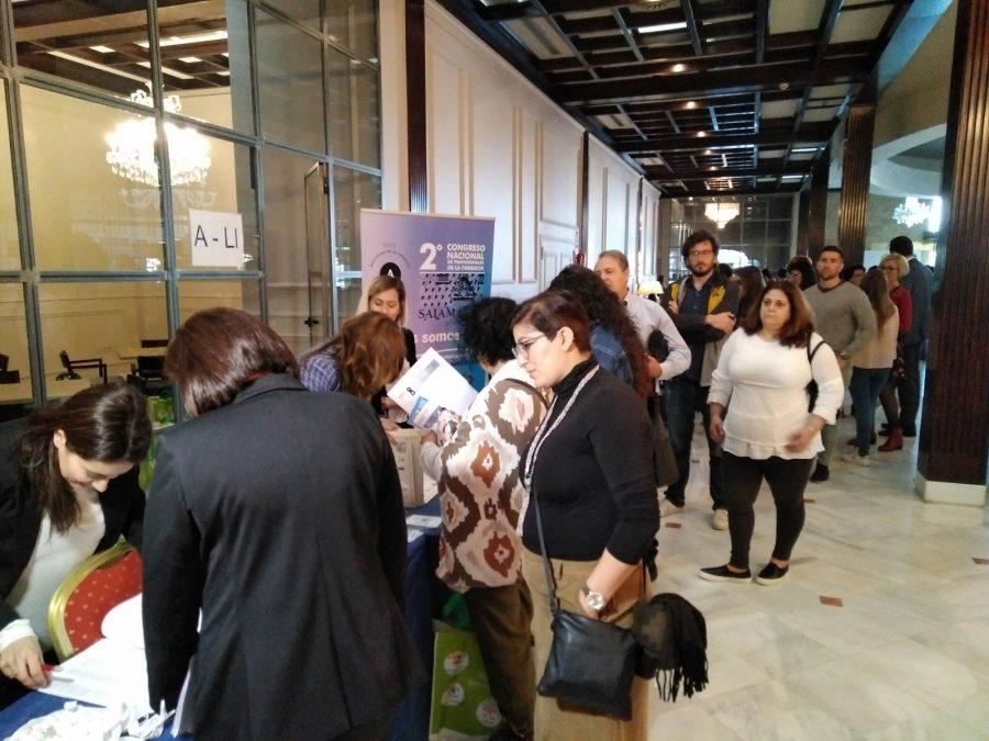 Registro de Asistentes Congreso Salamanca
