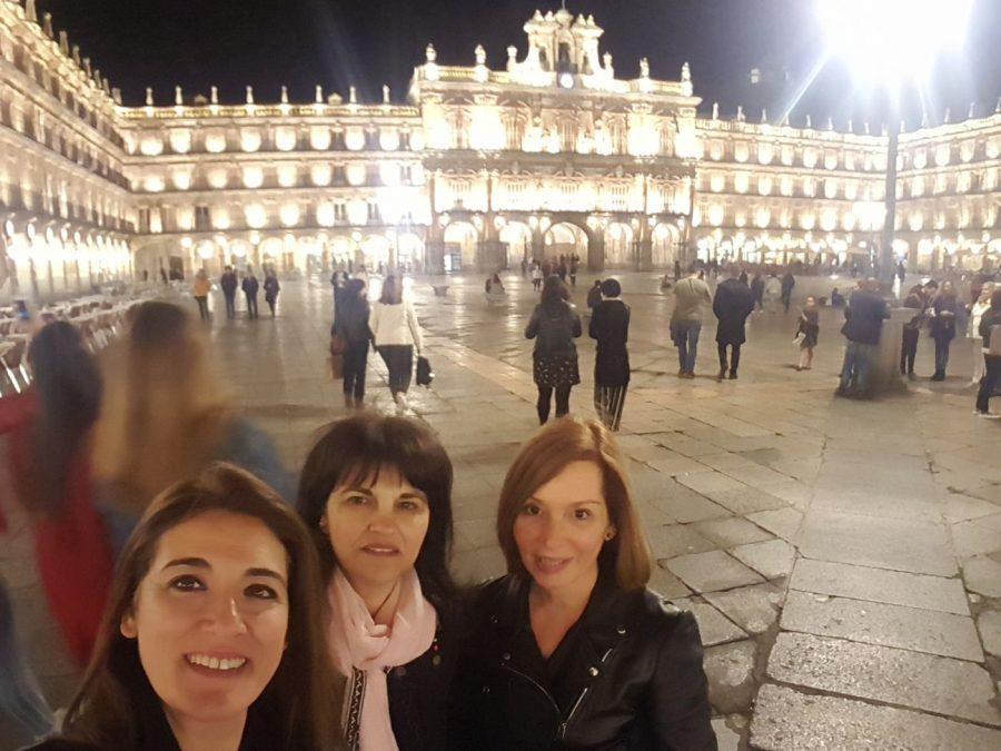 Desiree-Mª Jesús-Raquel-plaza-salamanca-congreso-asprofa