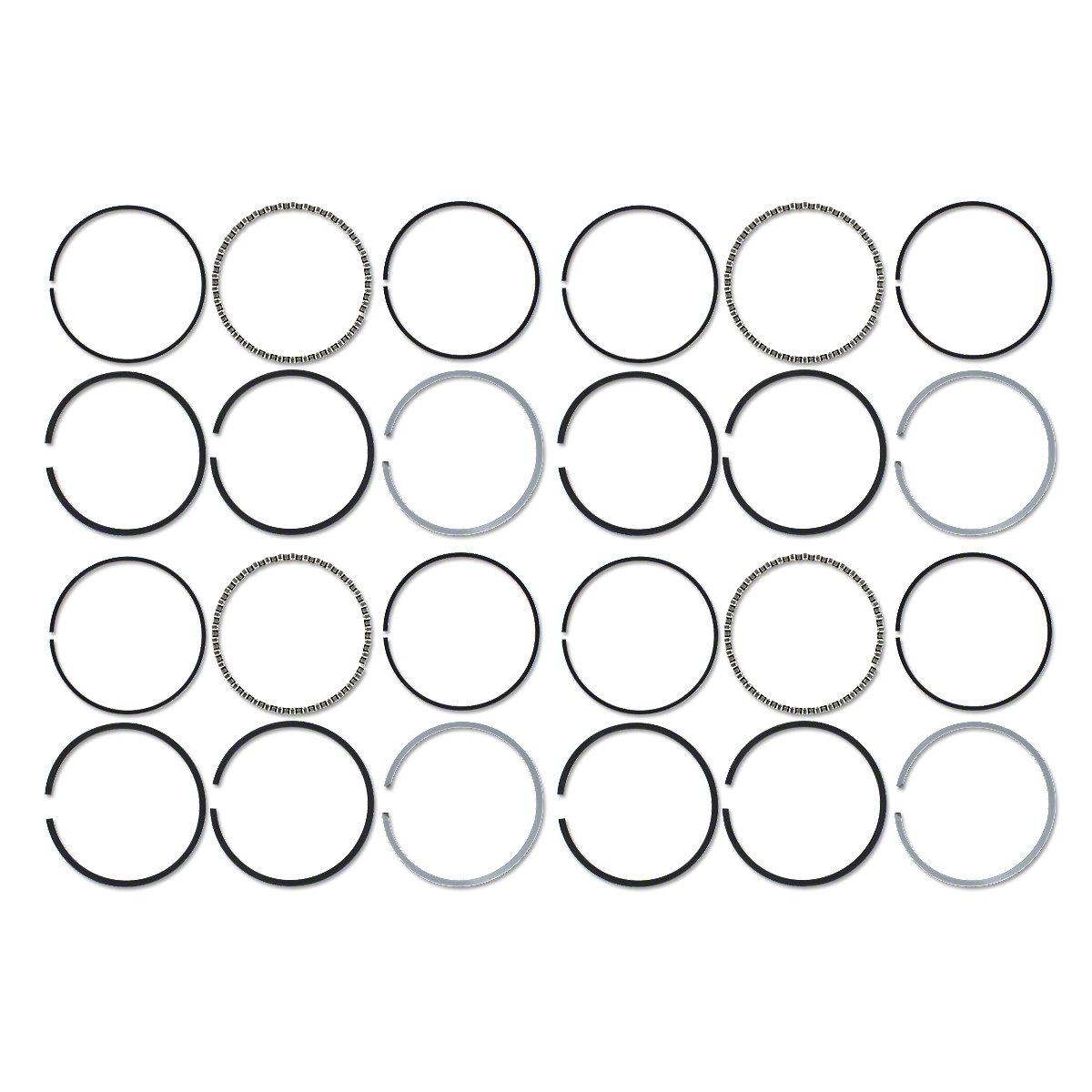 Piston Ring Set For Farmall B250 B275 B276 B414 356