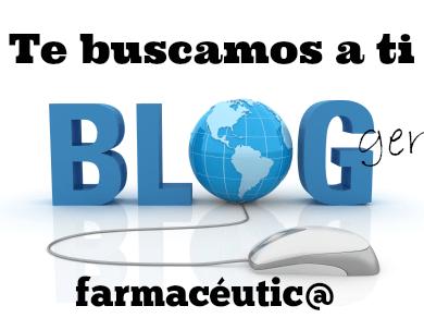 Te buscamos a ti blogger de farmacia ¿Quiénes han sido los 3 blogs seleccionados?