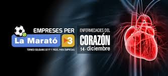MARATÓ DE TV3 DE 2014: POR LAS ENFERMEDADES DEL CORAZÓN.