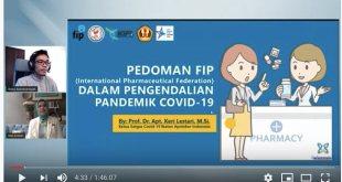 Ketua KIFI Jelaskan Pedoman FIP Untuk Apoteker Dalam Pengendalian COVID-19