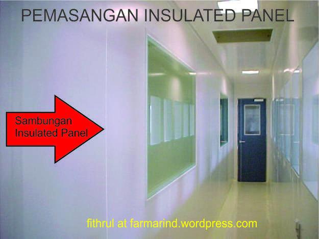 Insulated Panel dalam Ruang Bersih Produksi Farmasi