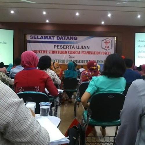 Ujian OSPE (Objective Structural Pharmaceutical Examination)