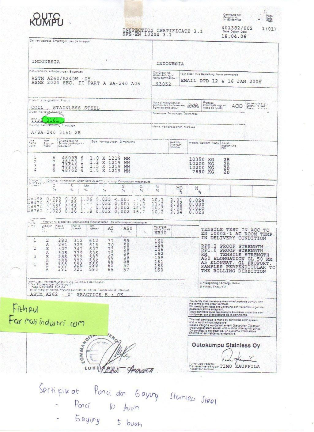 sertifikat-stainless-steel-316l