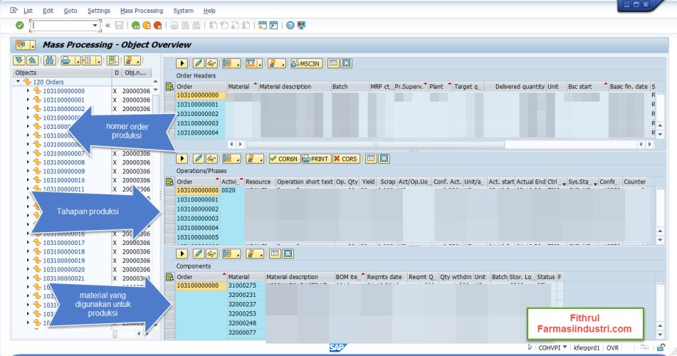 SAP Modul Production Planing
