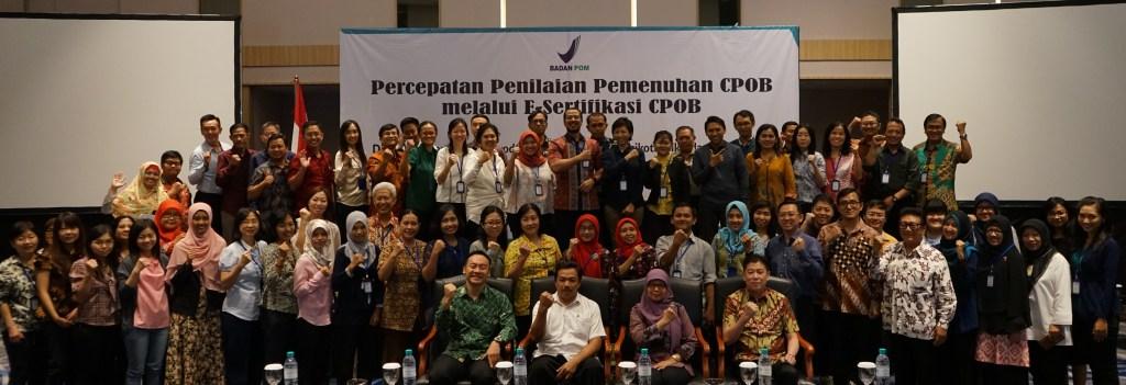 Mengikuti Sosialisasi E-Sertifikasi CPOB