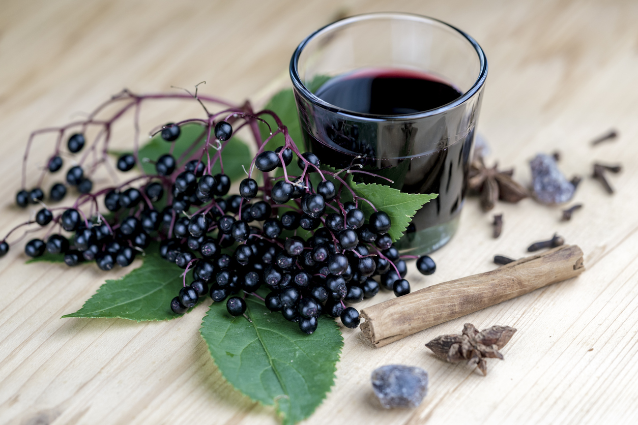 Elderberry Syrup For Fighting The Flu