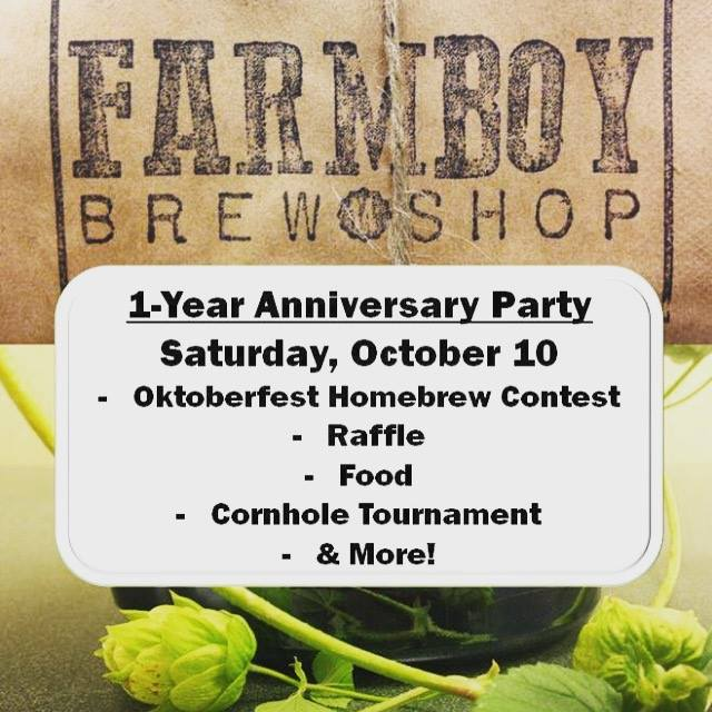 1-Year Anniversary Party & BoH Oktoberfest Contest!