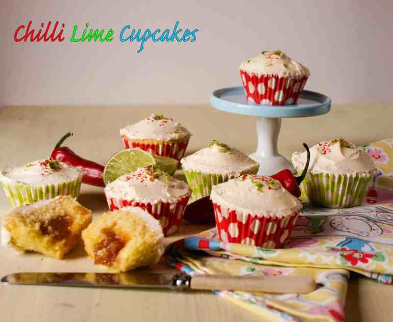 Chilli Lime Cupcakes