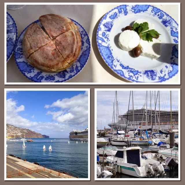 Food and views of the island of Madeira