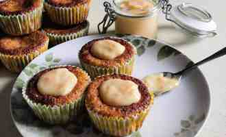 Citrus Chia Seed Muffins with Seville Orange Curd