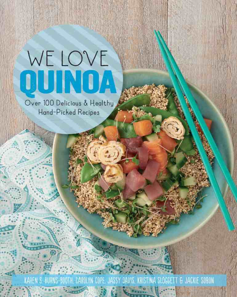 Farmersgirl Kitchen reviews We Love Quinoa from Apple Press