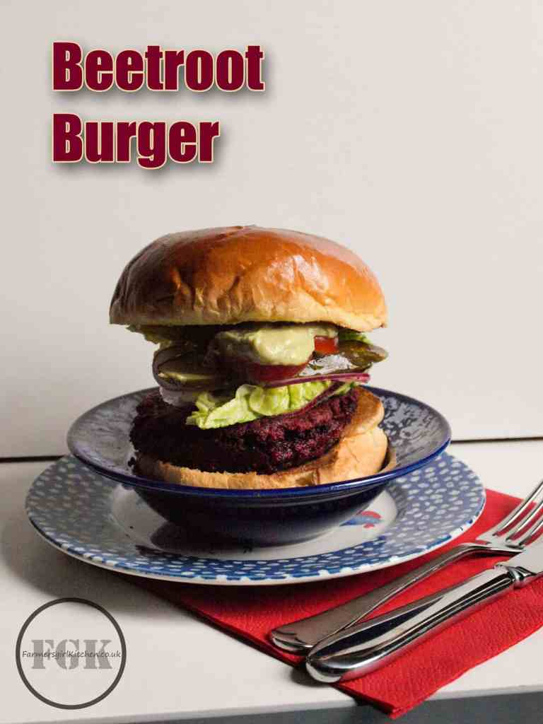 Vegetarian Beetroot Burgers