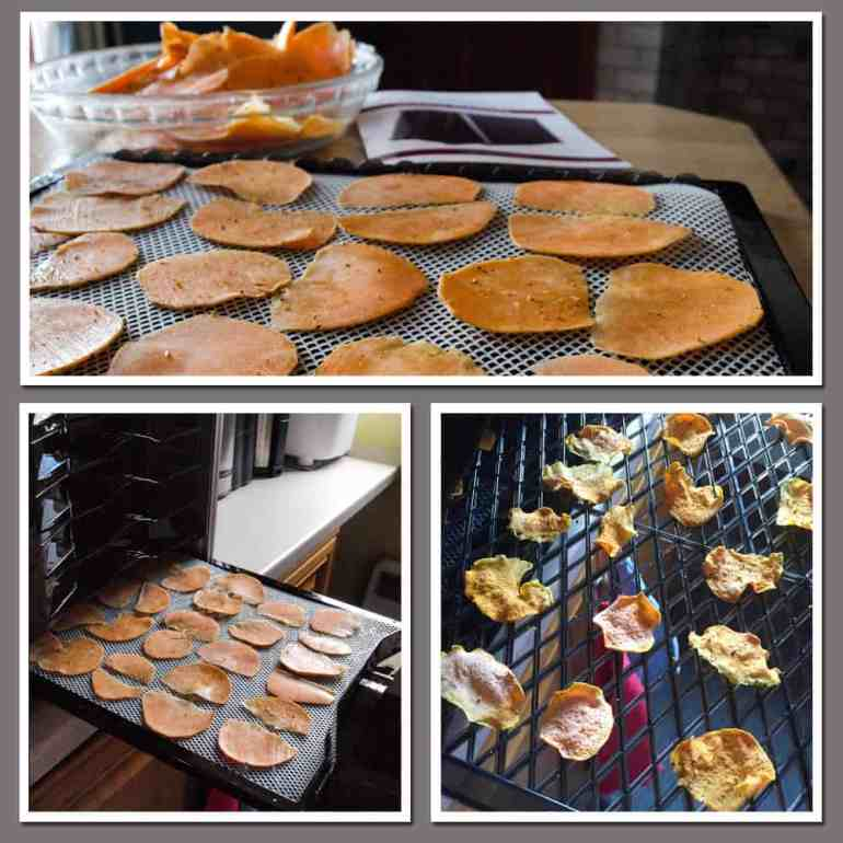 How to make Sweet Potato Chips in the Optimum P200 Dehydrator