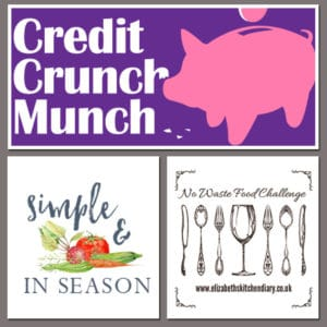 Credit Crunch Munch, Simple and in Season, No Waste Food Challenge