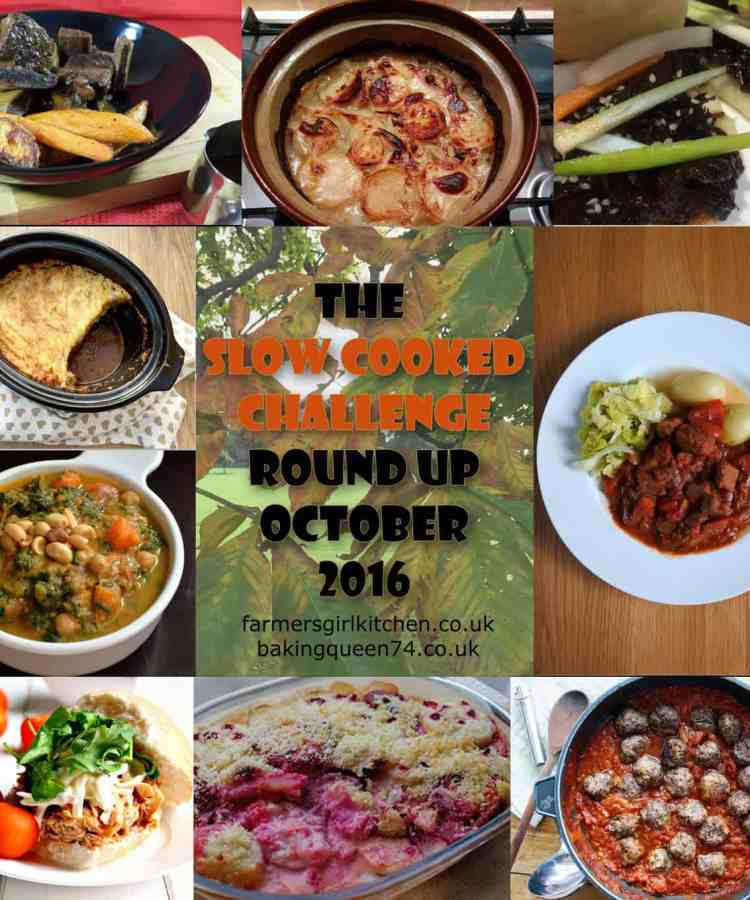 Slow Cooked Challenge Round Up October 2016