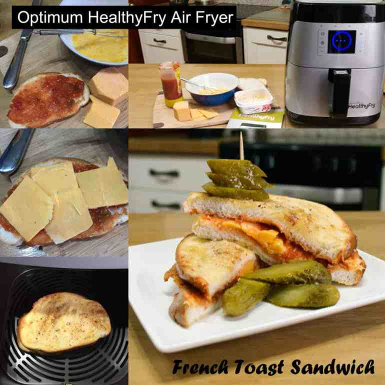 Optimum HealthyFry Air Fryer French Toast Sandwich