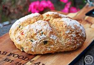 Easy Cheesy Jalapeno Soda Bread