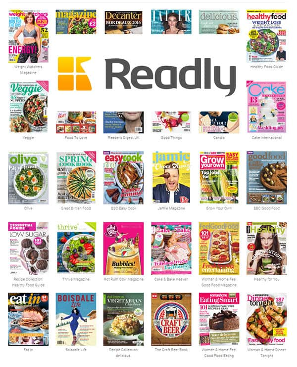 Readly Foodie Magazine Heaven