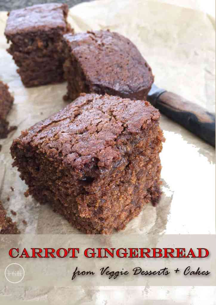 When Carrot Cake meets Gingerbread, it''s Carrot Gingerbread, sweet, spicy and sticky, so good!