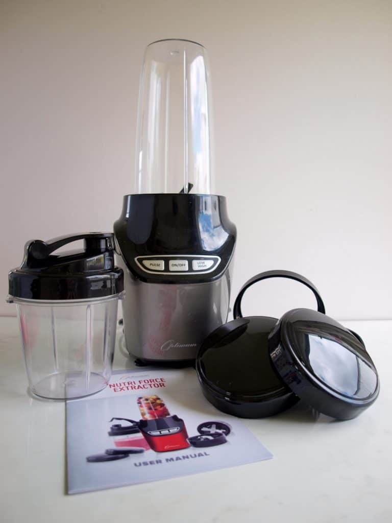 Brilliant Blender Banana Bread with the Nutriforce Extractor Personal Blender