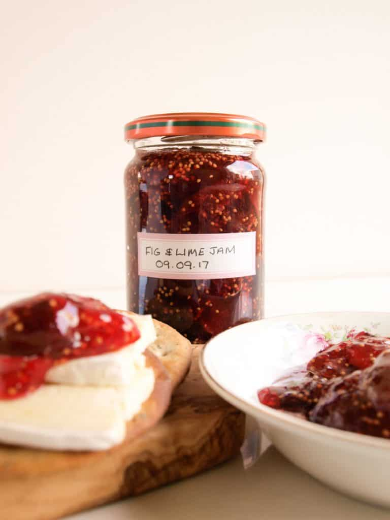 How to make Fig & Lime Jam