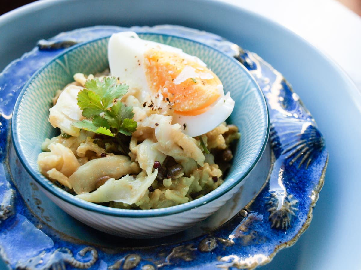 Kedgeree - Two Cookbook Reviews and a Giveaway
