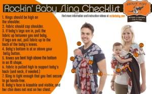 Rockin' Baby Sling Checklist