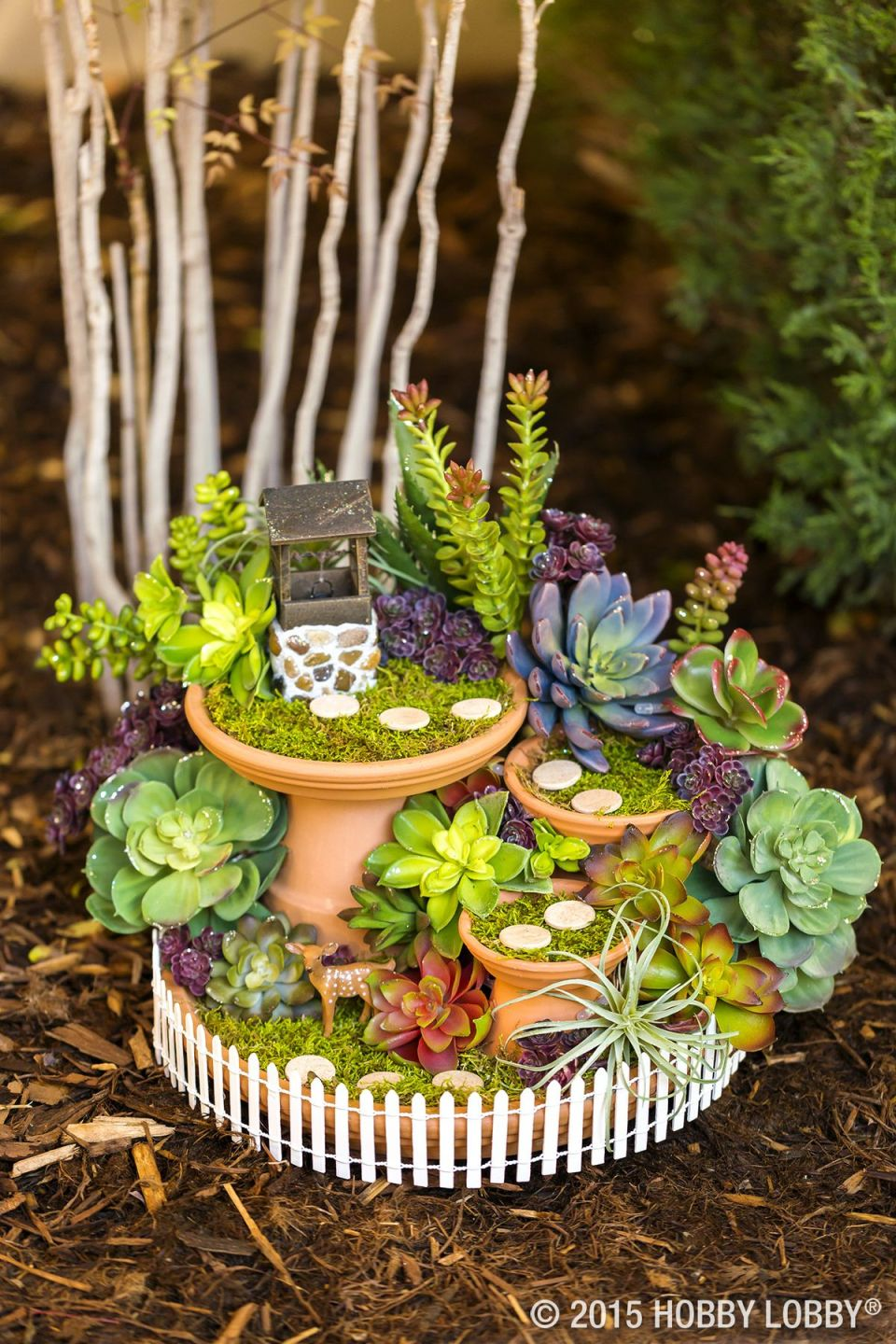 Fairy Garden Ideas: A Quiet DIY Fairy Garden Wishing Well