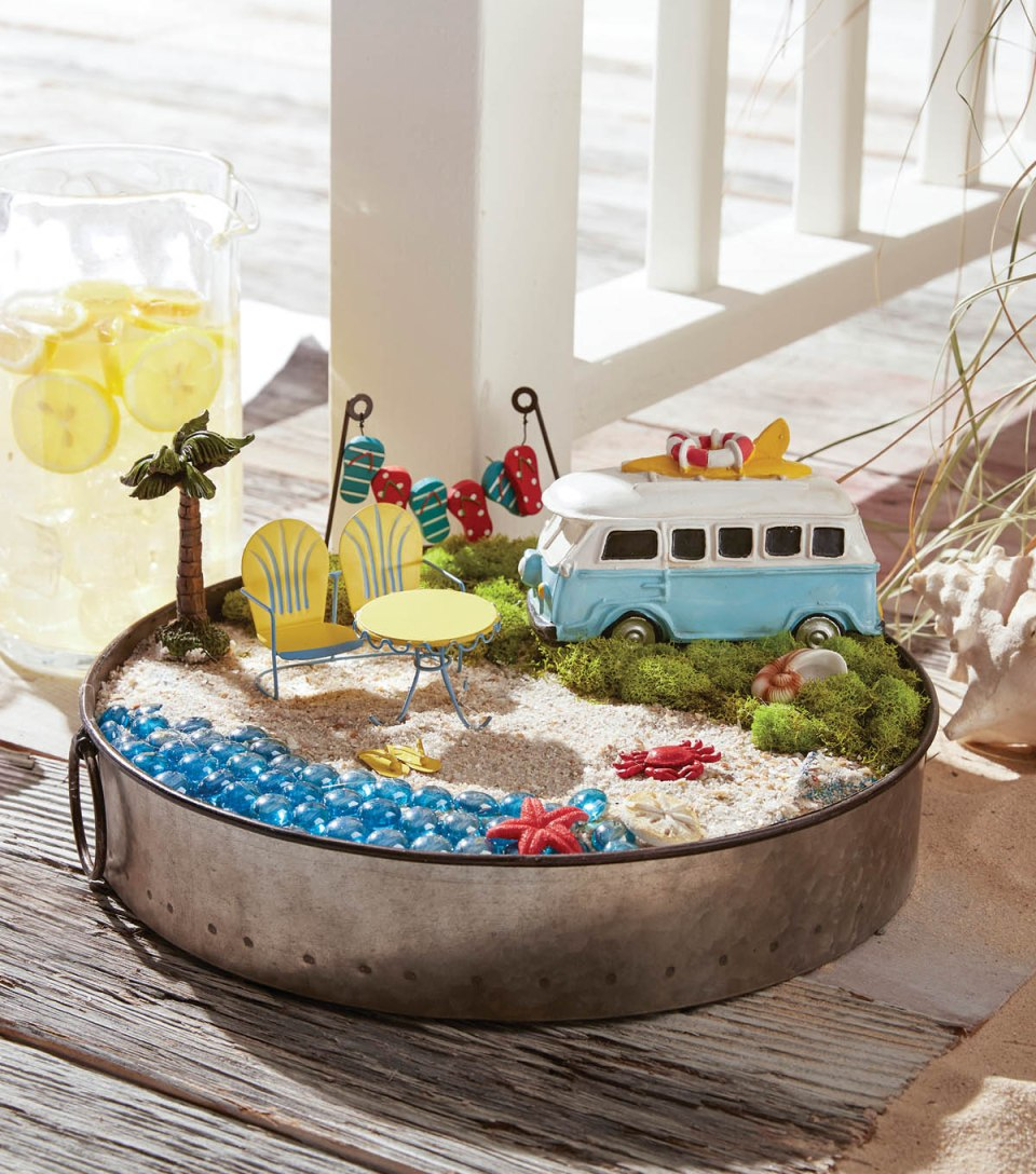 Fairy Garden Ideas: Beach People