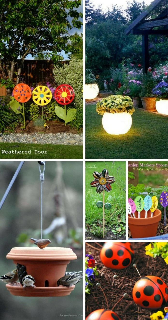 39+ Creative and Colorful DIY Crafts for Your Garden