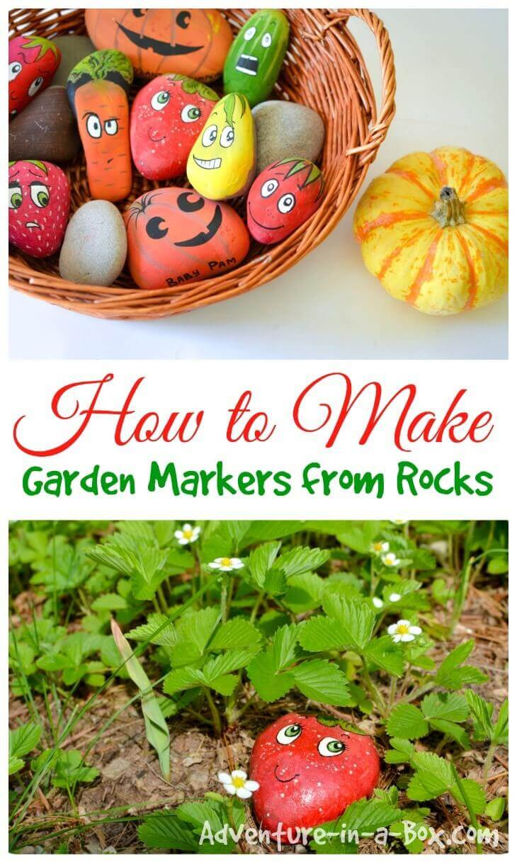 Cute Fruit and Veggie Garden Markers