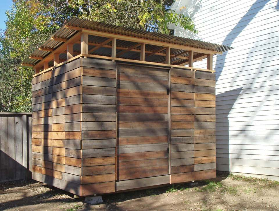 A Wooden Shed with Plenty of Space