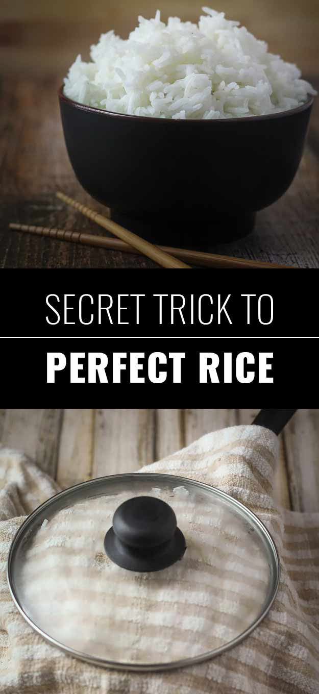 Secret Trick To Perfect Rice