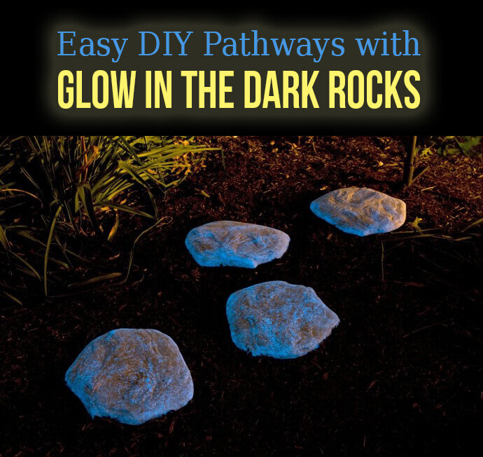 Glow in the Dark Pathway Rocks