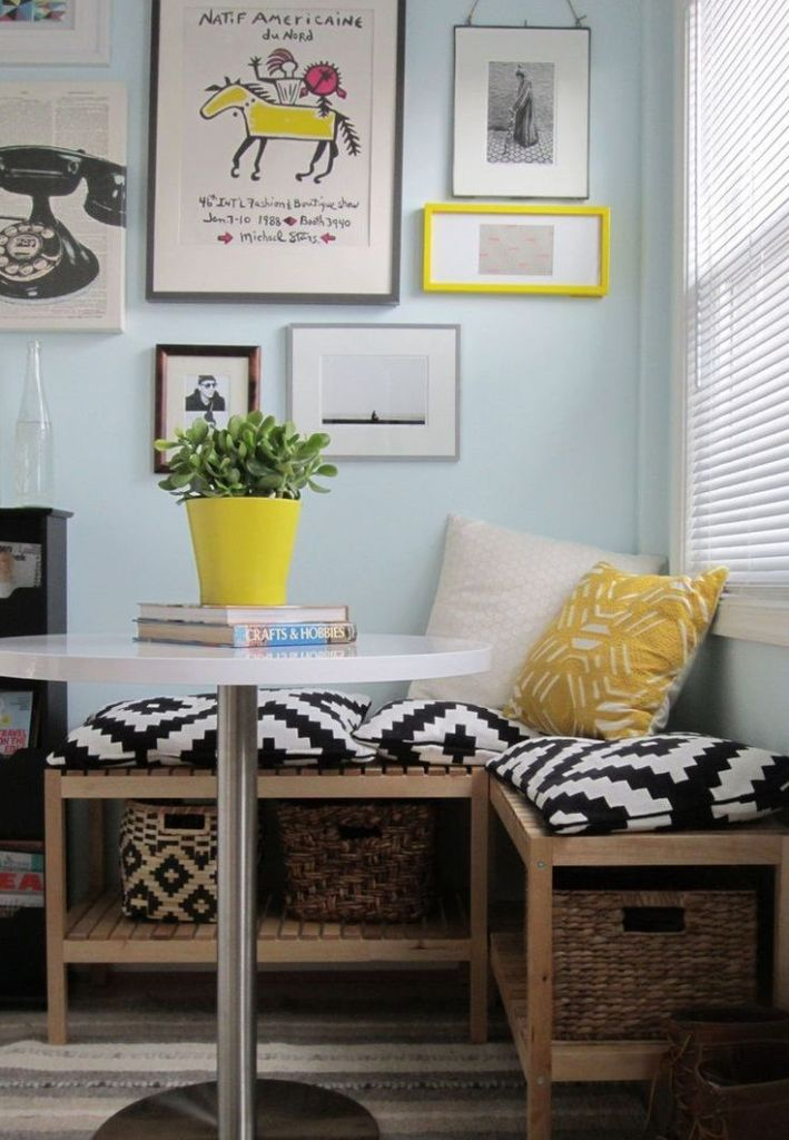 Tribal Style Breakfast Nook Ideas