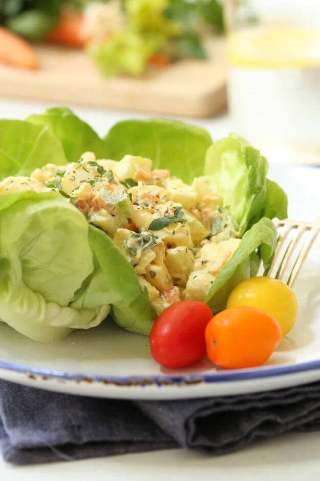 Loaded Low-Fat Egg Salad