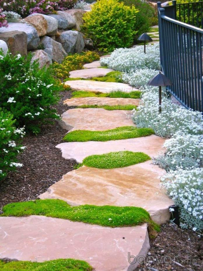Gorgeous and Sturdy Stepping Stones