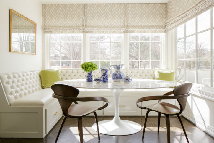 Vision in White Breakfast Nook Idea