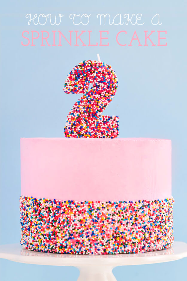 Ultimate DIY Sprinkle Cake