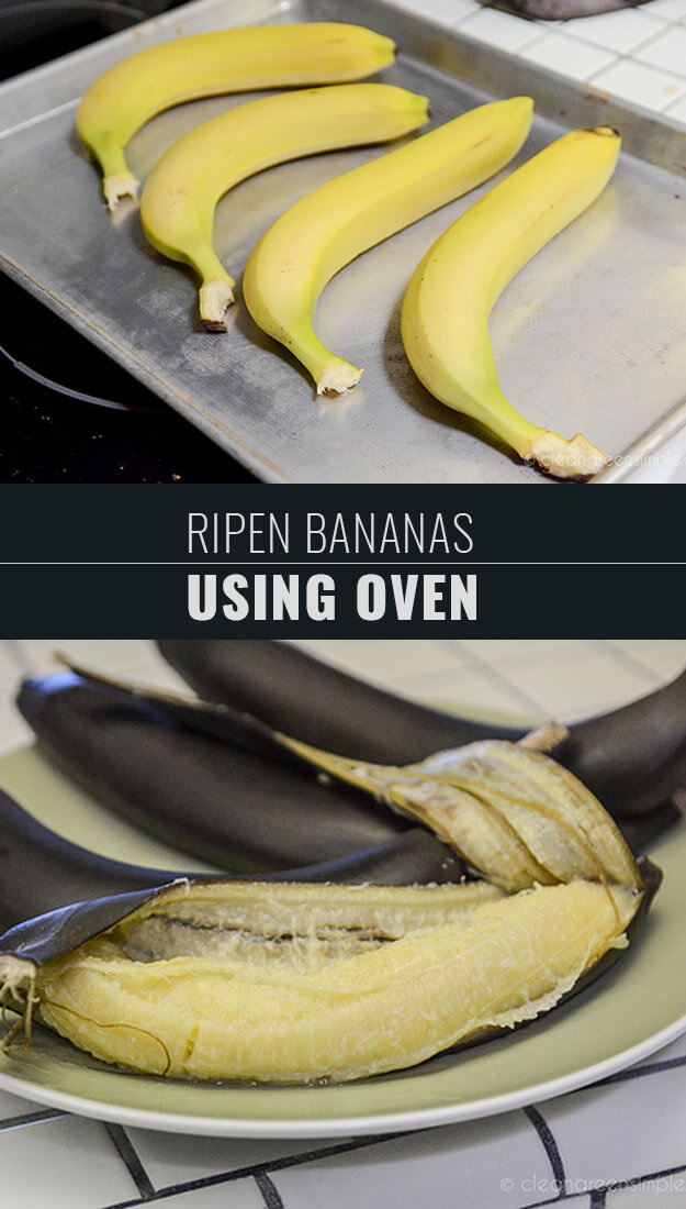Ripen Bananas In The Oven