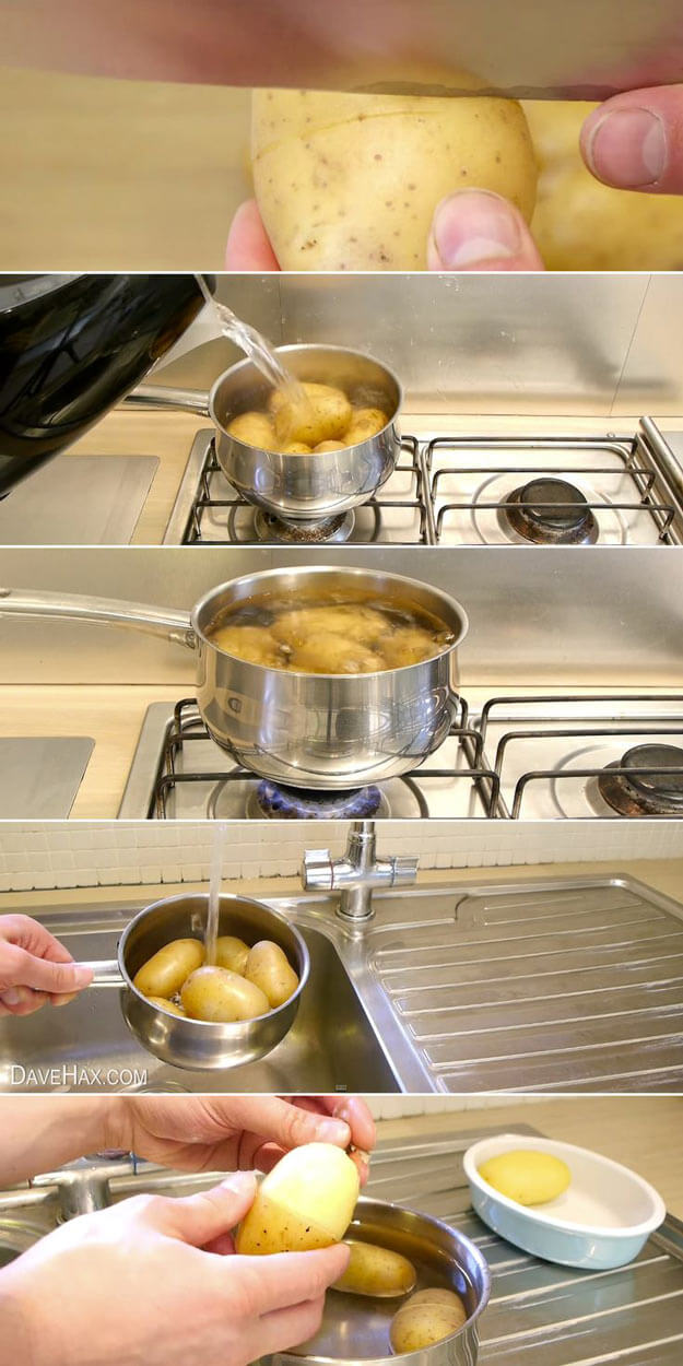 Best Way To Peel Potatoes
