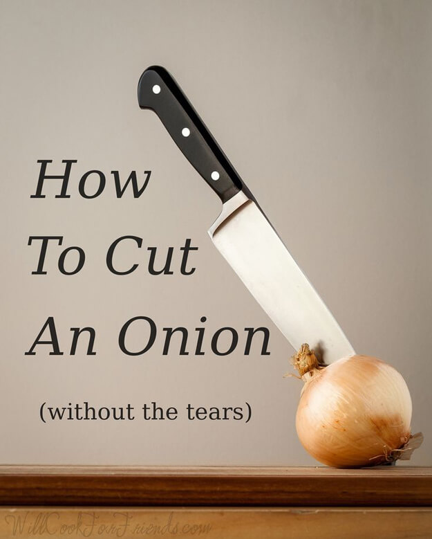 Cut An Onion Without Crying