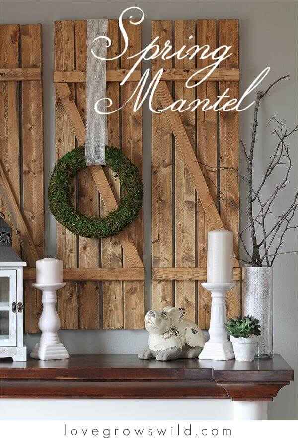 How to Decorate with Spring Wreaths