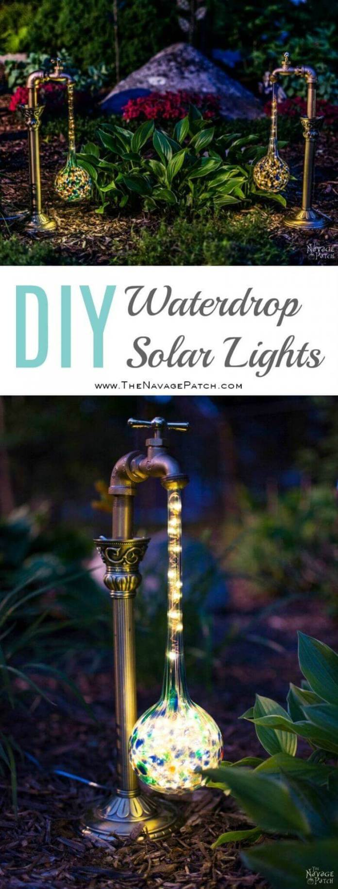 Light Up Your Garden with Water Drops