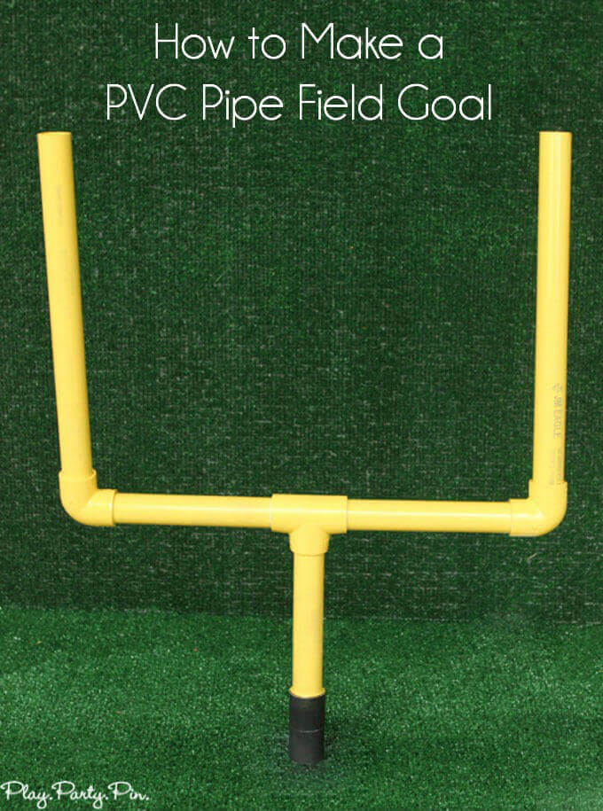 PVC Goal Posts for Little Athletes