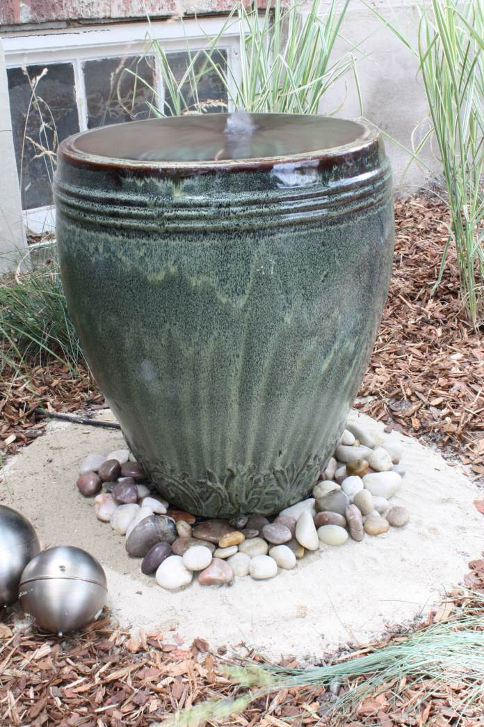 My Ceramic Pot Overfloweth Water Feature